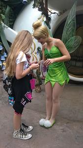 2014.10.21 - Disneyland. Tinkerbell.