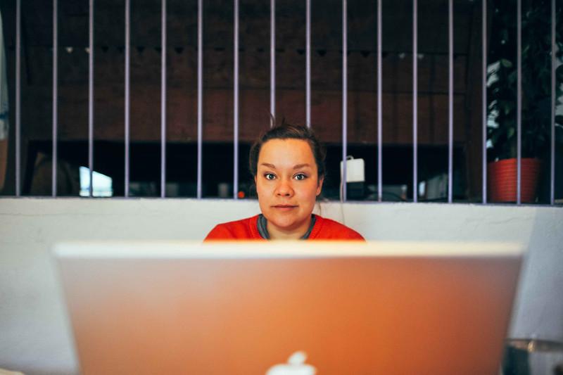 Larissa - At Work