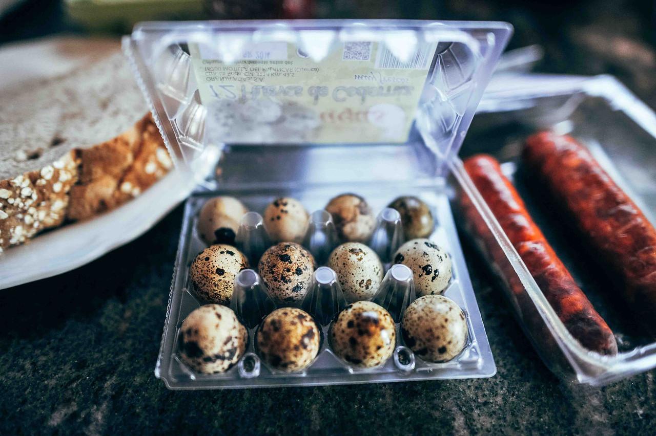 Quail Eggs for Breakfast