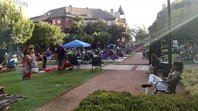 Little music in the park in Addison TX