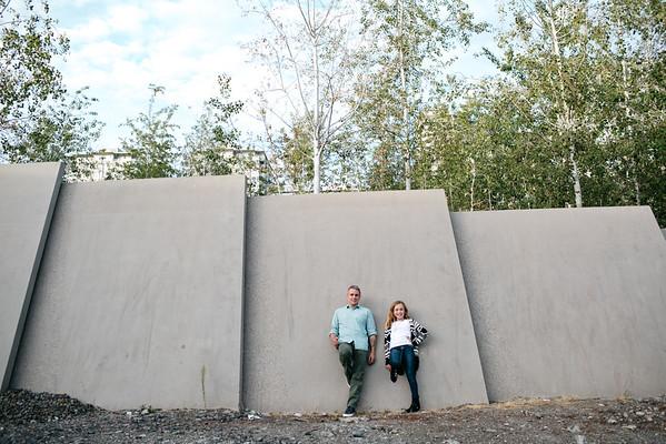 2015.08 - Dad & daughter photo shoot at Sculpture Park