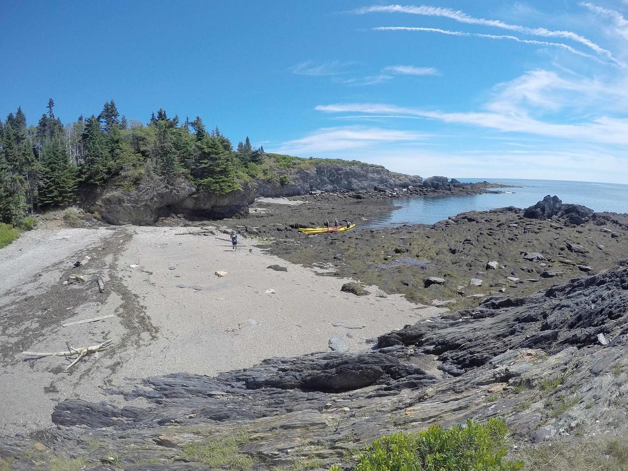 Our landing site- campsite for the weekend.<br /> <br /> DCIM\100GOPRO\GOPR0024., hlbD_abc73314.jpg