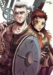 Vikings by Sweeney Boo - web (low res) color