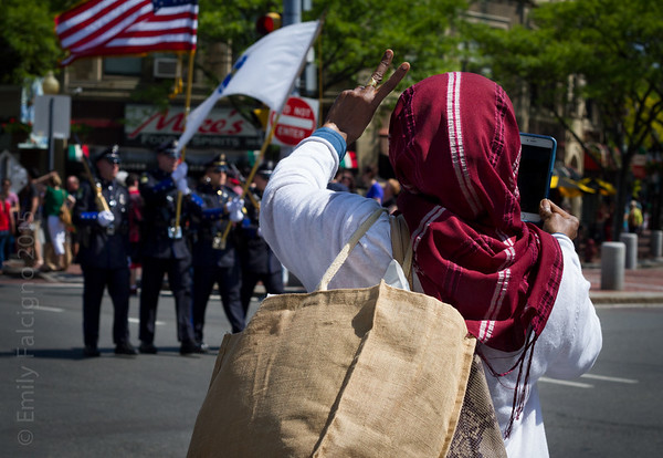 Peace. Memorial Day Parade 05-24-15