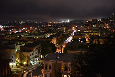 SF at night