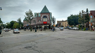 Walking along Brady street, Milwaukee (2)