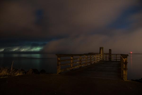 2016.01.09 - Seattle from Alki [long exposure]