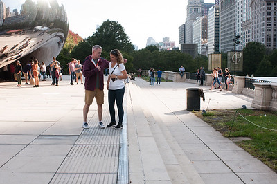 2016.10.17 - Chicago - the Bean sculpture