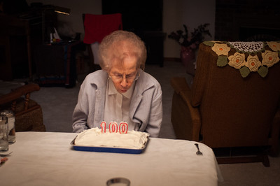 2016.10.18 - Grandma's 100th birthday celebration