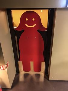 2016.05.19 - Reykjavik, Iceland. The Laundromat ladies toilet.