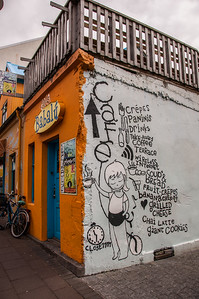 2016.05.19 - Reykjavik, Iceland. Babalu Cafe. Street art.
