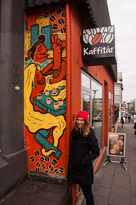 2016.05.19 - Reykjavik, Iceland. Coffee shop.