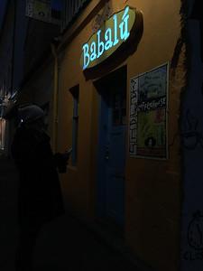 2016.05.18 - Reykjavik, Iceland. Babalu cafe.