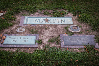2016.10.19 - grave of Charlie R. and Leta J. Martin (Dad's grandparents & Grandma's parents)