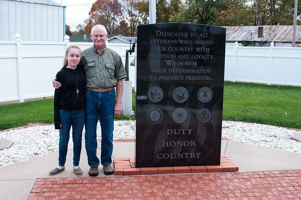 2016.10.19 - memorium to Colchester residents who served in the military over the years