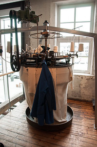 2016.05.23 - Langevog. Devold fabric factory museum.