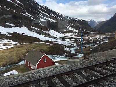 2016.05.31 - Train ride from Bergen to Oslo, Norway