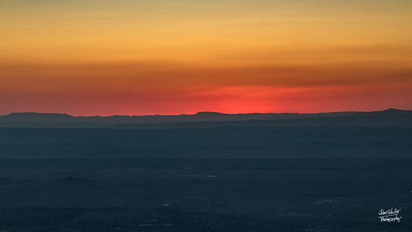 Shot at Sandia Peak n Albuquerque, NM in October 2017. © John Schiller Photography