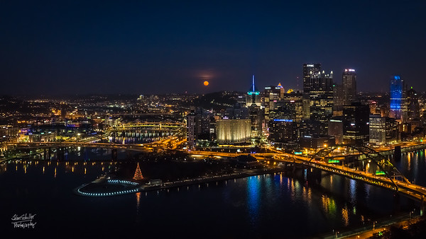 SuperMoon Pittsburgh