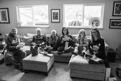 2017.12.25 - Christmas morning with the Hiltons