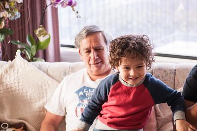 2017.03.26 - Lyonel and Uncle Rick at Grandma Rita's house house
