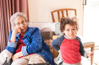 2017.03.26 - Grandma Rita and Lyonel