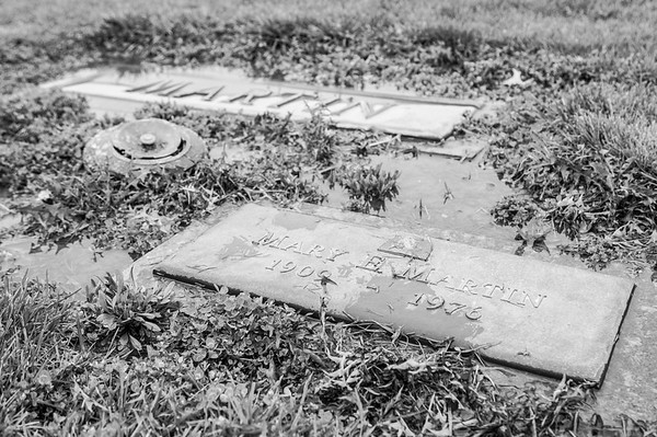 2017.03.31 - Forest Lawn Cemetery - Macomb, IL - Mary E. Martin (1909 - 1976) - paternal great-aunt - Lotus Martin's aunt - Charlie Martin's sister-in-law - married to Kerman