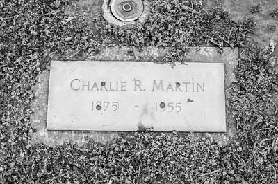 2017.03.31 - Forest Lawn Cemetery - Macomb, IL - Charlie R. Martin (10/28/1875 - 7/22/1955) - paternal great-grandfather - Lotus Martin Hilton Webb's father