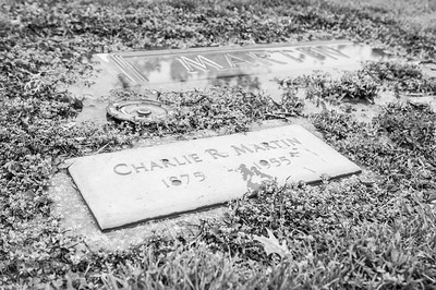 2017.03.31 - Forest Lawn Cemetery - Macomb, IL - Charlie Martin (10/28/1875 - 7/22/1955) - paternal great-grandfather - Lotus Martin Hilton Webb's father