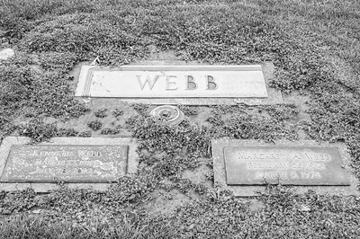 2017.03.31 - Forest Lawn Cemetery - Macomb, IL - Kenneth Webb (3/27/1918-7/28/2002) - paternal step-grandfather married to Lotus Martin Hilton Webb - with his first wife, Margaret A. Webb (2/26/1915 - 3/5/1974)