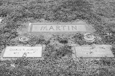 2017.03.31 - Forest Lawn Cemetery - Macomb, IL - Charlie  (10/28/1875 - 7/22/1955) and Leta Justus (10/25/1878 to 2/8/1973) Martin - paternal great-grandparents - Lotus Martin Hilton Webb's parents