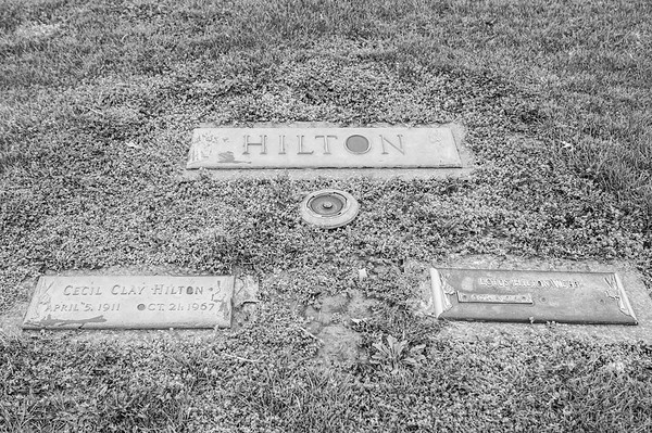 """2017.03.31 - Forest Lawn Cemetery - Macomb, IL - Cecil Clay """"Tom"""" Hilton (4/5/1911 - 10/21/1967) - paternal grandfather married to Lotus Martin Hilton"""