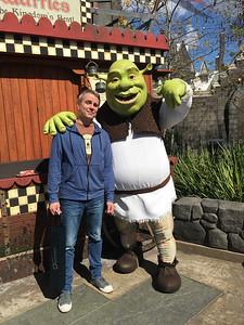 2017.02.22 - Universal Studios - with Shrek