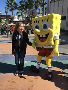 2017.02.22 - Universal Studios - with Spongebob Squarepants