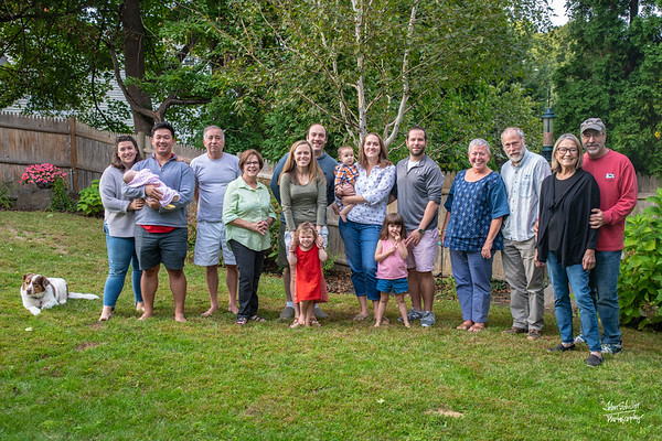 2018 Family Gathering with the Butterworths