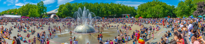 Lets see how Instagram handles super wide panoramas. Took during Pride march this Summer 2018