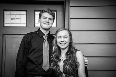 2018.10.20 - homecoming dance - Kimber & Ethan