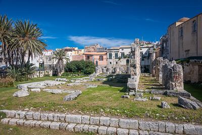 Tempio di Apollo - remains of an historic Greek temple