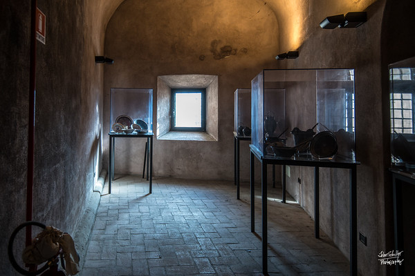 Inside Castel Sant'Angelo