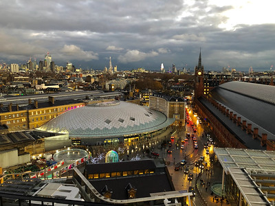 2018.12.03 - London. View from 11th floor of Kings Cross Google office.