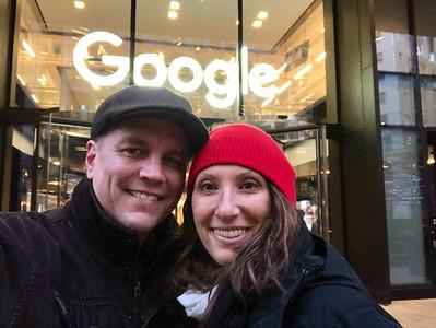 2018.12.07 - London. Google's Kings Cross office.