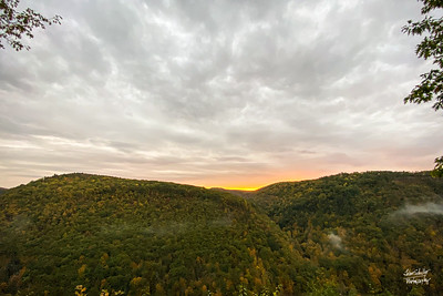 Sunrise at the Gorge