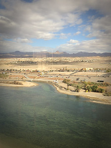 Overlooking the Colorado River and Bullhead City, AZ.