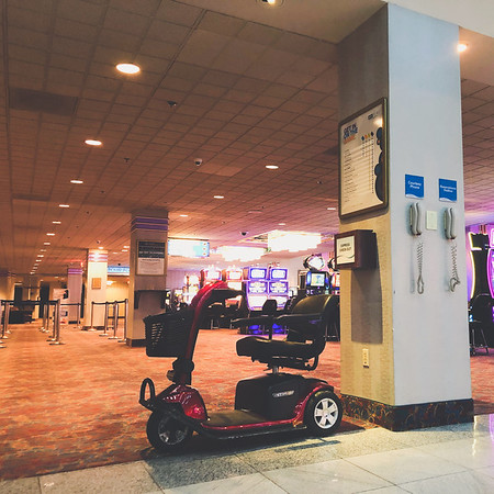 Scooter City - Aquarius Casino Resort
