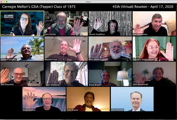 GSIA-Tepper Class of 1975 Reunion Photo1
