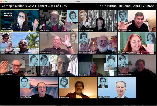 GSIA-Tepper Class of 1975 Reunion Photo2