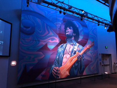 2020.01.05 - Prince exhibit at MOPOP