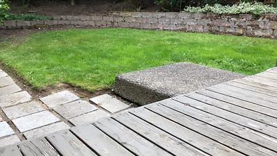 2020.06.29 - Day 1 of gravel patio