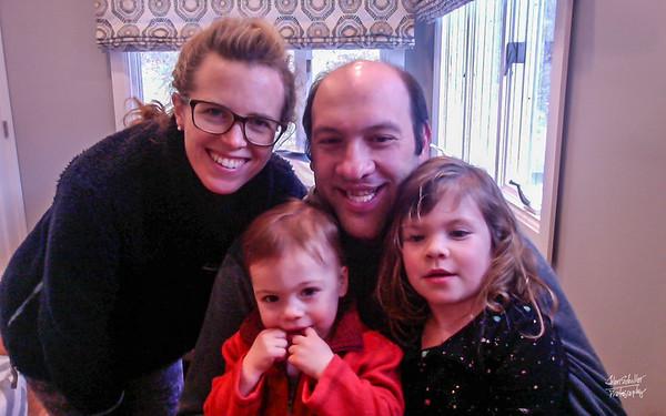 Birthday greetings  from my Arlington MA  kids and grandkids!  Gotta love it!