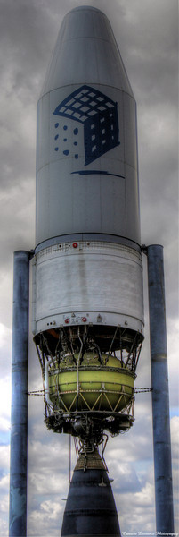 February 20, 2010  Discovery Science Museum Santa Ana, CA  This is an HDR shot of the rocket out front. It's fun being a geek.